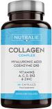 Colágeno + Ácido Hialurónico + Coenzima Q10 + Vitaminas A, C, D y B12 + Zinc |