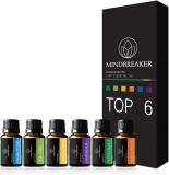 Aceites esenciales para aromaterapia bio – Set de 6 botellas
