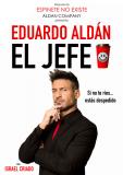 Entrada a «El Jefe» de Eduardo Aldán en el Teatro Arlequín