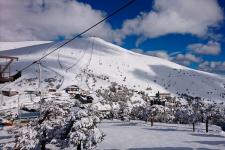 Forfait con opción a alquiler de equipo de esquí en el Puerto de Navacerrada