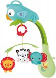 Móvil musical 3 en 1, juguete de cuna con música para bebé