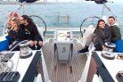 Navegación en barco a vela desde Port Vell