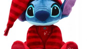 Peluche mediano Stitch, Holiday Cheer